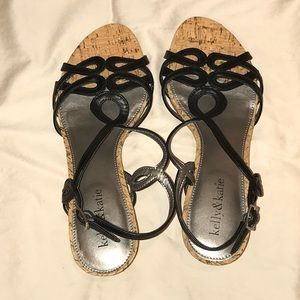 Kelly and Katie Wedge Sandals